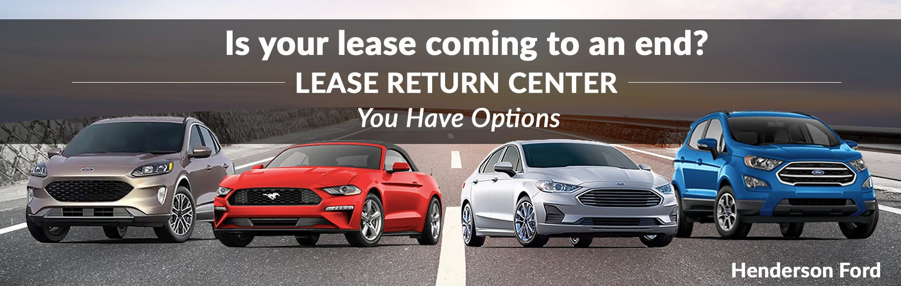 Ending A Car Lease Early >> Ford Lease End Options
